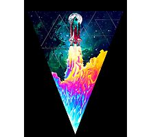 Geometric Space Odyssey  Photographic Print