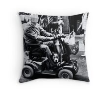 the bond Throw Pillow