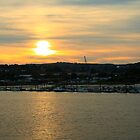 Sunset Over Strood by Dave Godden