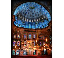 HDR: Blue Mosque, Istanbul, Turkey (view larger) Photographic Print