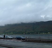 the clouds approach to kiss the loch... by WonderlandGlass