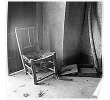 Abandoned house -Casa abandonada- Poster