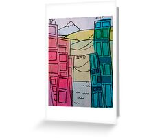 City Landscape Greeting Card