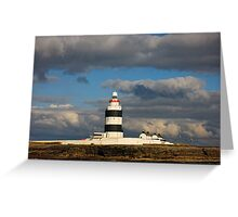 Hook Head Lighthouse, County Wexford, Ireland Greeting Card