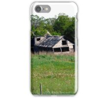 Abondoned on the Prairies iPhone Case/Skin