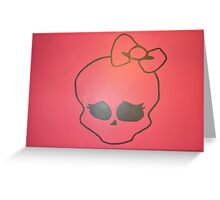 Skull Baby Greeting Card