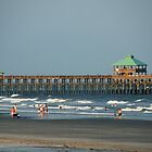 Folly Beach Pier by Susanne Van Hulst