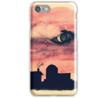Welcome to Night Vale Silhouette  iPhone Case/Skin