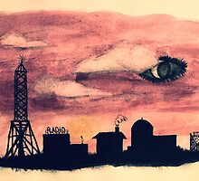 Welcome to Night Vale Silhouette  by booklils