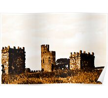 Little Castle on the hill Poster
