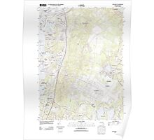 Massachusetts  USGS Historical Topo Map MA Pocasset 20120522 TM Poster