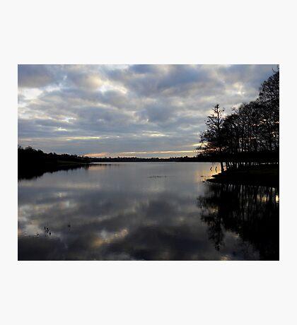 Gulladoo Lake at sunset Photographic Print