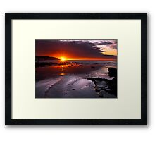 Amazing Sunrise Framed Print