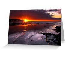 Amazing Sunrise Greeting Card