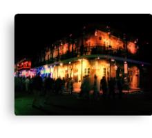 Ghosts of Bourbon Street Canvas Print