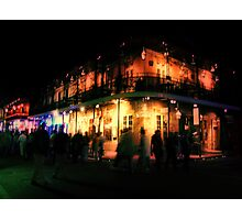 Ghosts of Bourbon Street Photographic Print