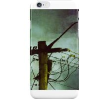 Birds On A Wire #2 iPhone Case/Skin