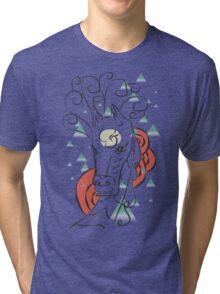 Horse In The Wind Tri-blend T-Shirt