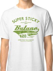 Retro Butane Hash Oil Classic T-Shirt