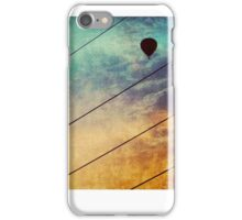 Birds On A Wire #3 iPhone Case/Skin