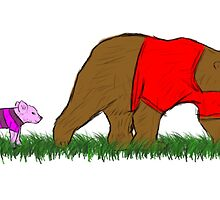 Winnie, and Piglet by Andrew Shulman