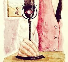 Night Vale Radio Host by booklils