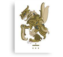 Scyther Pokemayan Canvas Print