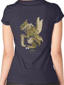 Scyther Pokemayan Women's Fitted Scoop T-Shirt