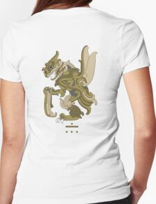 Scyther Pokemayan Womens Fitted T-Shirt