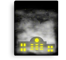 Fish in the clouds Canvas Print