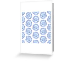 Abstract watercolor pattern. Seamless 3 Greeting Card