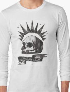 Chloe's Shirt - Misfit Skull Long Sleeve T-Shirt