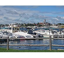 Gloucester Harbor Photographic Print