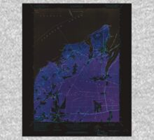 Massachusetts  USGS Historical Topo Map MA Vineyard Haven 350665 1951 24000 Inverted One Piece - Long Sleeve
