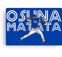 Osuna Matata Canvas Print