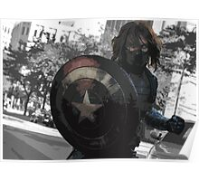 Bucky Barnes- Winter Soldier Poster