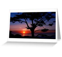 #243    Sunset From Scenic Greeting Card