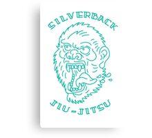 Silverback Jiujitsu Canvas Print