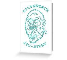 Silverback Jiujitsu Greeting Card