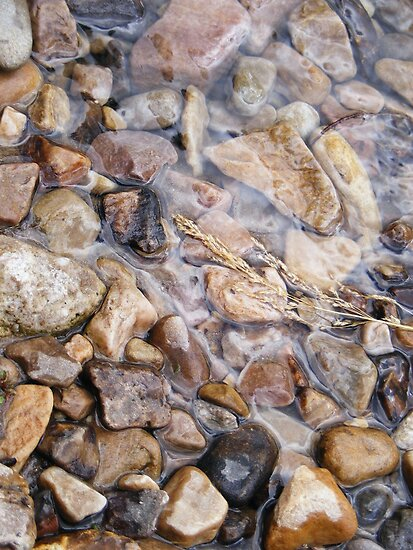 River rocks, spring stones by elasita