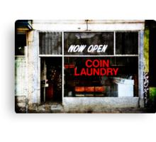 'Five Star Laundry' Canvas Print