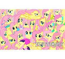 Fluttershy Blur Photographic Print