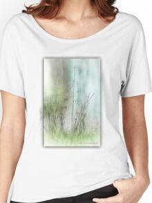 Water Side Peace © Vicki Ferrari Photography Women's Relaxed Fit T-Shirt