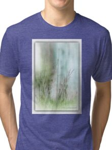 Water Side Peace © Vicki Ferrari Photography Tri-blend T-Shirt