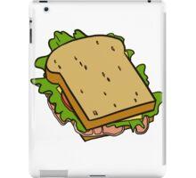 sandwich A iPad Case/Skin