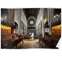 Cathedral Architecture Poster