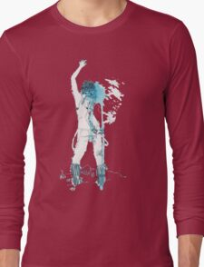 Chloe Price in Watercolor Long Sleeve T-Shirt