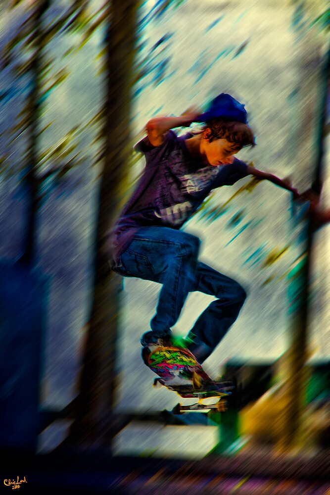 Skateboading by Chris Lord