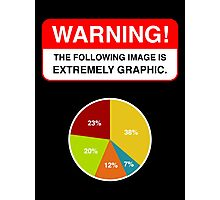 WARNING EXTREMELY GRAPHIC! Photographic Print