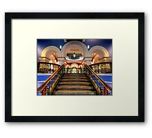 Victorian Majesty- The Queen Victoria Building , Sydney Australia Framed Print